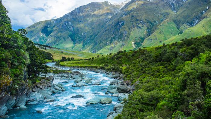 Wasser als Teil der Landschaft - wunderschön und eine gefährliche Naturgewalt